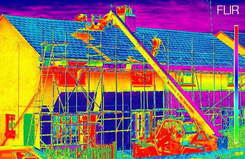 Eficiencia energetica con drones