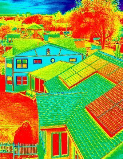 Revisión de eficiencia energética en edificios con drones