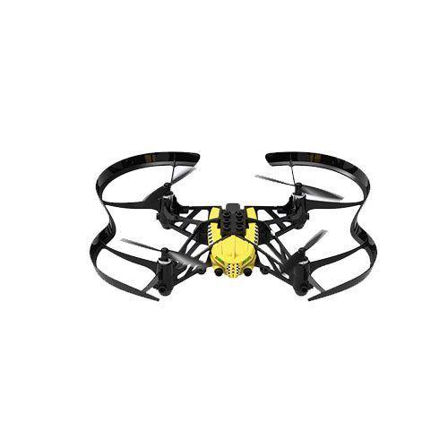 Parrot dron Cargo Travis Amarillo con protectores