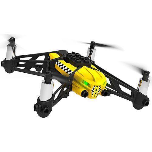 dron Parrot Travis diversion asegurada con sus playmobil