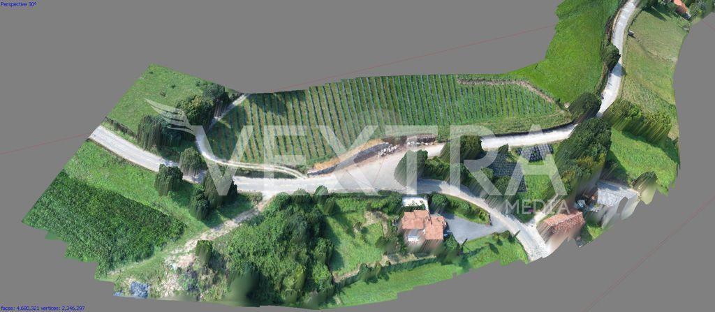 Fotogrametria con drones en Cantabria