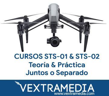 CURSO STS-01 y STS-02 EUROPEO DRONES CANTABRIA