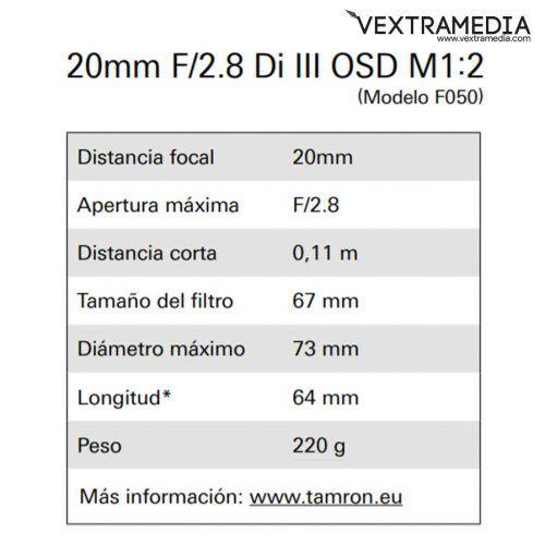 objetivo-Tamron-20mm-full-frame-para-sony-e-2